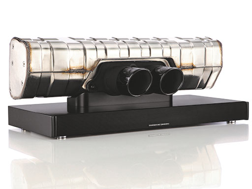 Die 911 Soundbar. By Porsche Design.